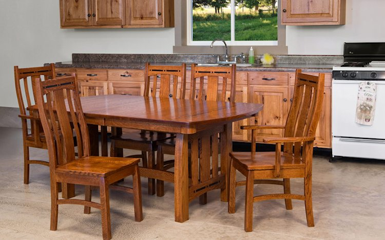 Amish Dining Room Furnture Wisconsin