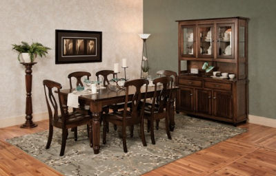 Amish Dining Room Furniture | Amazing Quality | Discount ...
