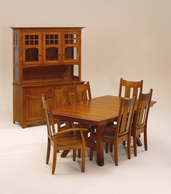 Amish Dining Room Furniture | Amish Table and Chairs | Appleton ...