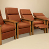 Amish Recliners and Rocking Chairs 1