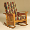 Amish Recliners and Rocking Chairs 14