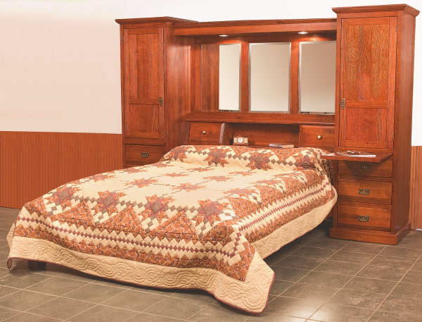 Amish Made Bed Amish Bedroom Furniture Green Bay