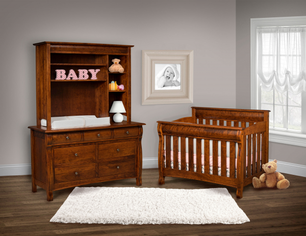 Amish Crib Amish Changing Table Amish Furniture Outlet