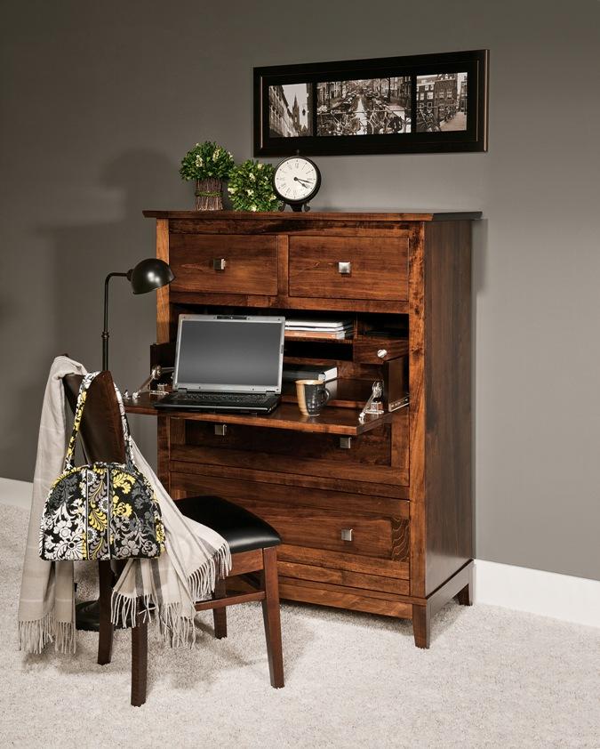 Amish fice Furniture Amish Desk Solid Wood Bookcase